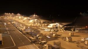 Flughafen nachts